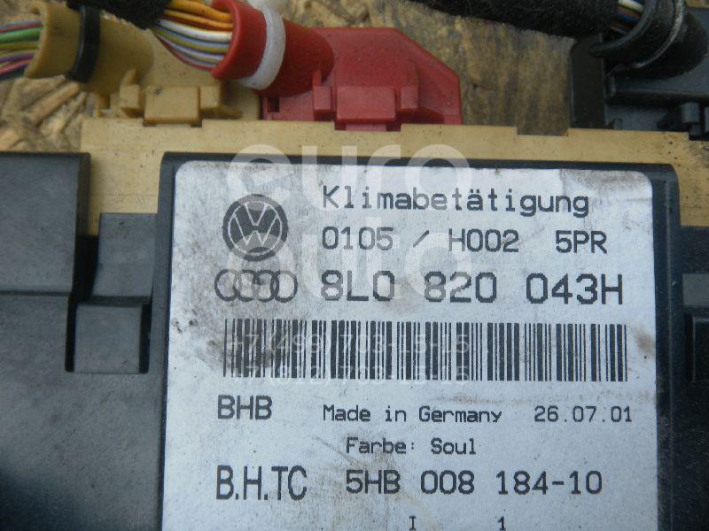 Блок управления климатической установкой для Audi A3 (8L1) 1996-2003;A4 [B5] 1994-2001 - Фото №1