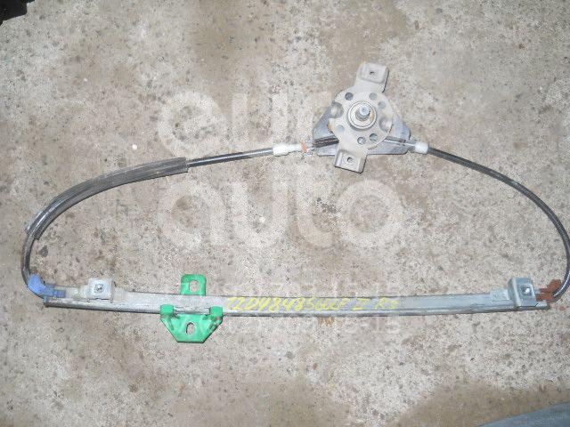Стеклоподъемник механ. задний правый для VW Golf II/Jetta II 1983-1992;Passat [B2] >1988 - Фото №1