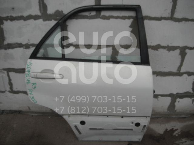 Дверь задняя правая для Lexus RX 300 1998-2003 - Фото №1