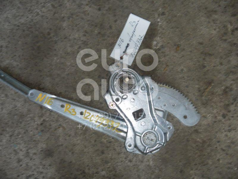 Стеклоподъемник электр. задний правый для Nissan Almera N16 2000-2006 - Фото №1