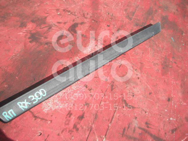 Накладка на порог (наружная) для Lexus RX 300 1998-2003 - Фото №1