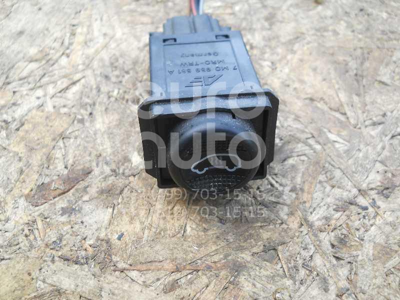 Кнопка заднего отопителя для Ford Sharan 1995-1999;Galaxy 1995-2006 - Фото №1