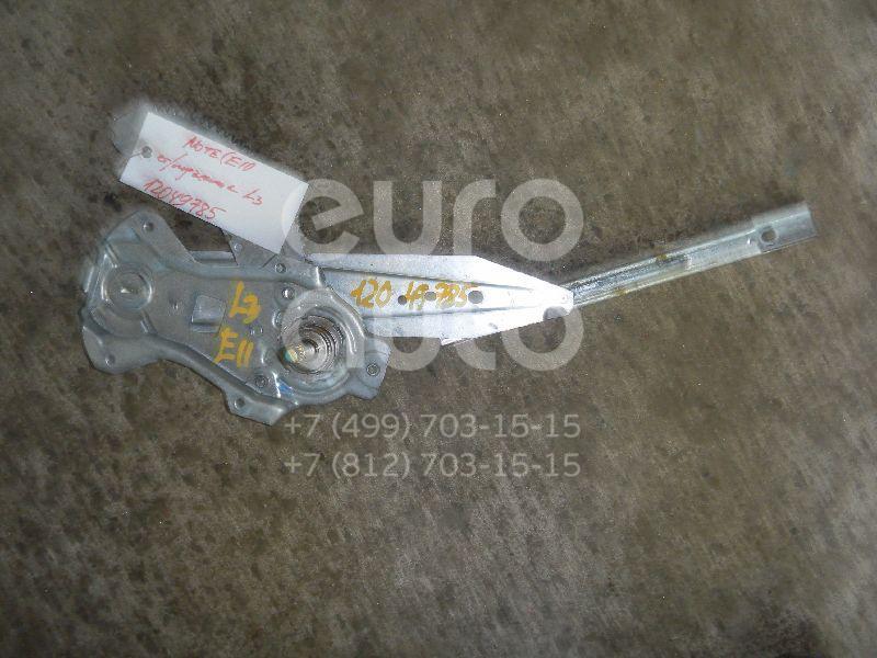 Стеклоподъемник механ. задний левый для Nissan Note (E11) 2006-2013 - Фото №1