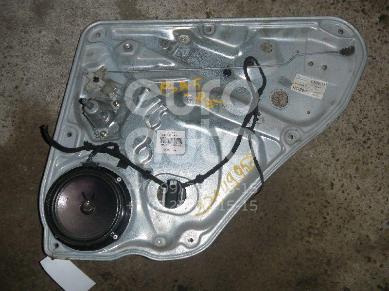 Стеклоподъемник механ. задний правый для Ford Focus II 2005-2008;C-MAX 2003-2010;Focus II 2008-2011 - Фото №1