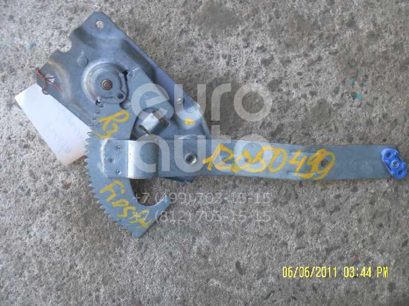 Стеклоподъемник механ. задний правый для Ford Fiesta 1995-2000 - Фото №1