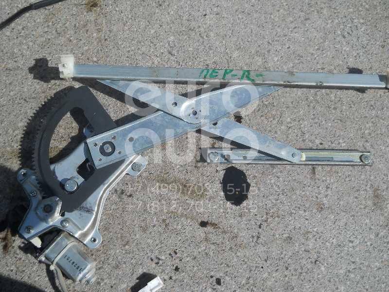Стеклоподъемник электр. передний правый для Chevrolet Aveo (T250) 2005-2011;Aveo (T200) 2003-2008 - Фото №1