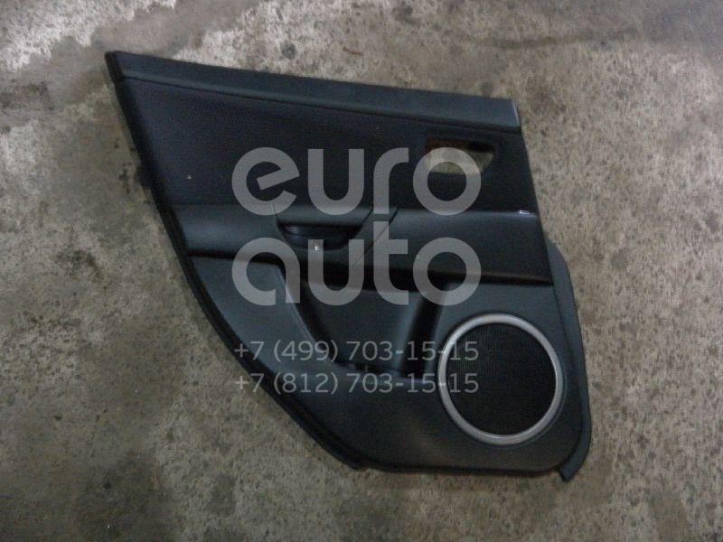 Обшивка двери задней левой для Mazda Mazda 3 (BK) 2002-2009 - Фото №1