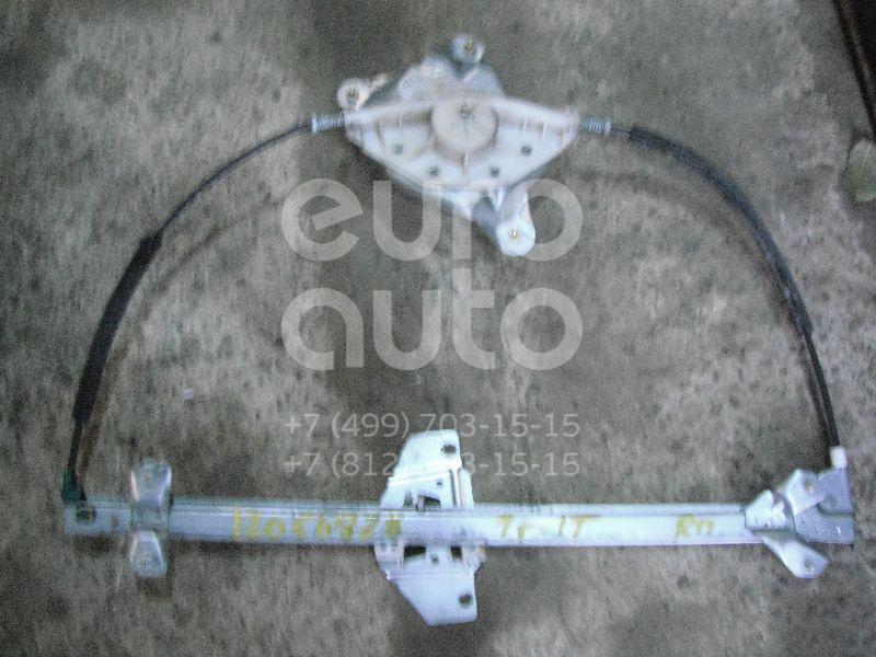 Стеклоподъемник механ. передний правый для Ford Transit/Tourneo Connect 2002-2013 - Фото №1