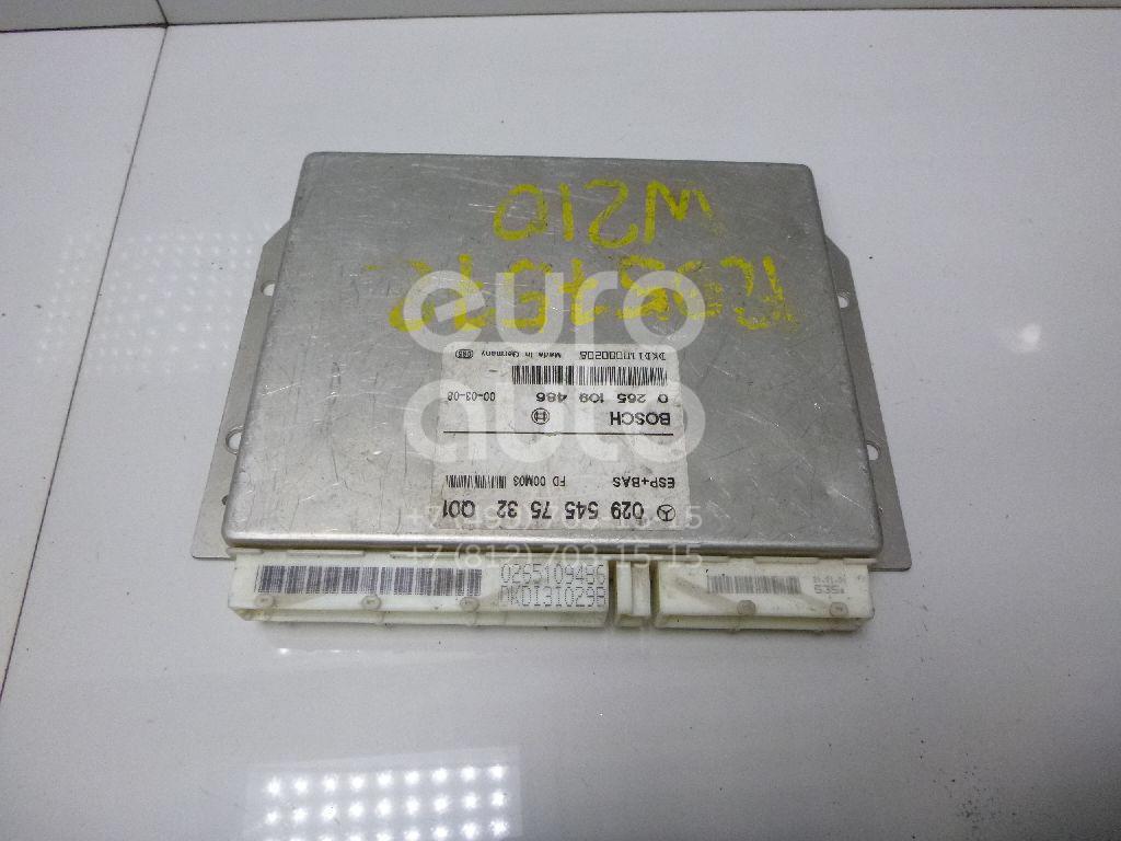 Блок управления ESP для Mercedes Benz W210 E-Klasse 2000-2002;W210 E-Klasse 1995-2000 - Фото №1
