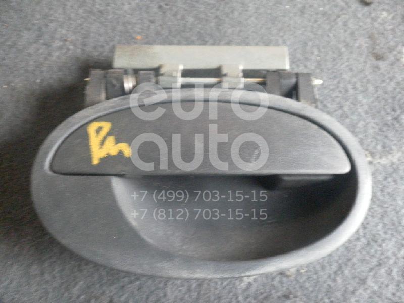 Ручка двери передней наружная правая для Opel Corsa C 2000-2006 - Фото №1