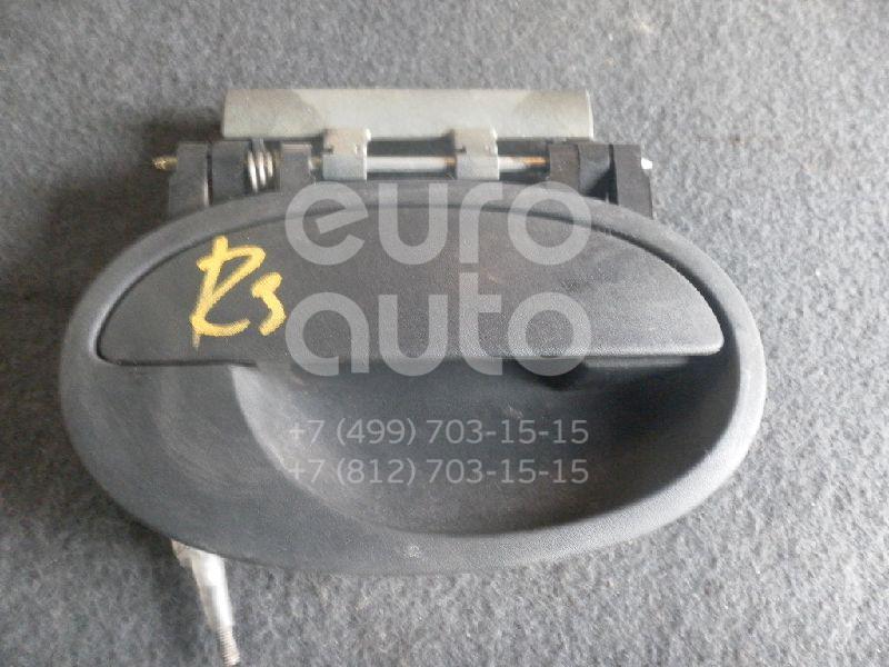 Ручка двери задней наружная правая для Opel Corsa C 2000-2006 - Фото №1
