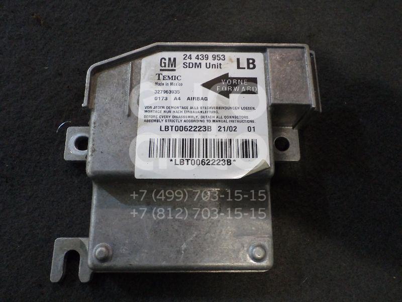 Блок управления AIR BAG для Opel Corsa C 2000-2006 - Фото №1