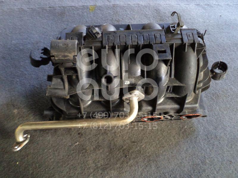Коллектор впускной для Opel Corsa C 2000-2006;Astra G 1998-2005;Agila 2000-2008;Zafira (F75) 1999-2005 - Фото №1