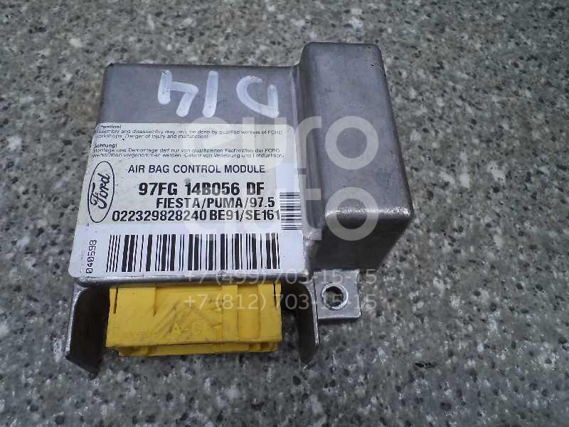 Блок управления AIR BAG для Ford Fiesta 1995-2000;Puma 1997-2002;Fiesta 2001-2008 - Фото №1