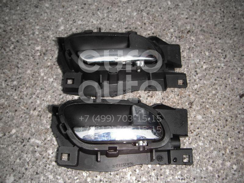 Ручка двери внутренняя правая для Citroen,Peugeot C4 2005-2011;407 2004-2010;C6 2006-2012 - Фото №1