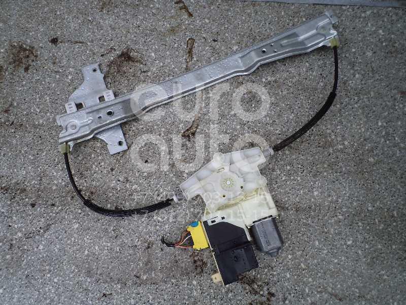 Стеклоподъемник электр. передний левый для Citroen C4 2005-2011 - Фото №1