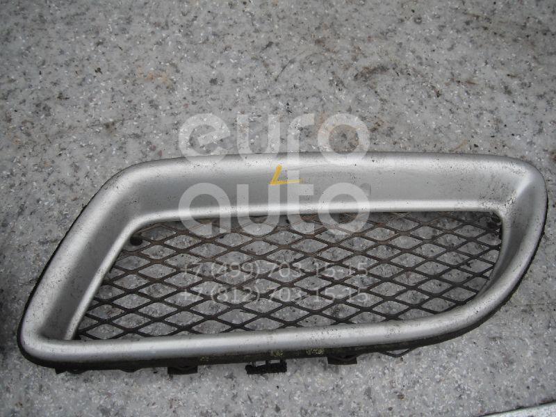 Решетка радиатора левая для Nissan Primera P11E 1996-2002 - Фото №1
