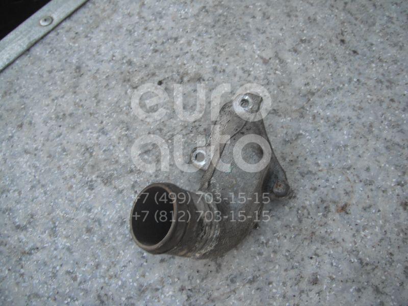 Фланец двигателя системы охлаждения для Nissan Primera P11E 1996-2002;Almera N15 1995-2000;Primera WP11E 1998-2001;Primera P10E 1990-1996;Sunny N14 1990-1995;Primera W10 1990-1998;100NX (B13) 1990-1994 - Фото №1