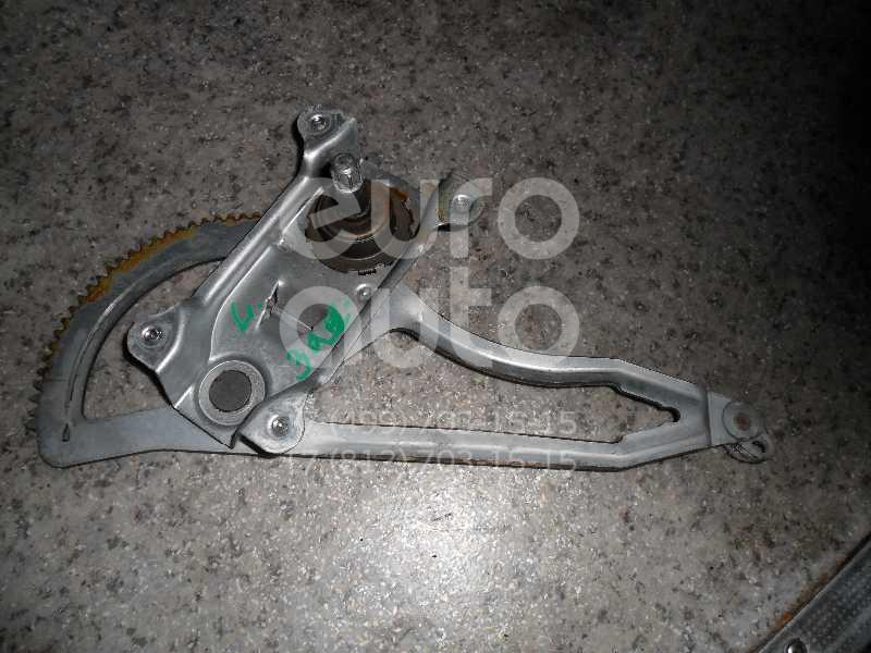 Стеклоподъемник механ. задний левый для Opel Astra G 1998-2005 - Фото №1