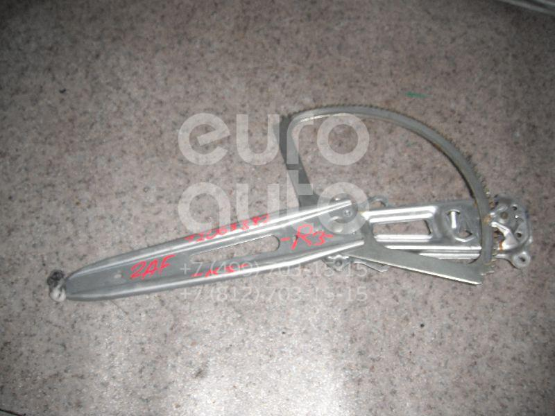 Стеклоподъемник механ. задний правый для Opel Zafira (F75) 1999-2005 - Фото №1