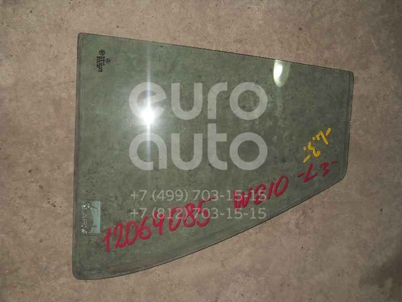 Стекло двери задней левой (форточка) для Mercedes Benz W210 E-Klasse 1995-2000 - Фото №1