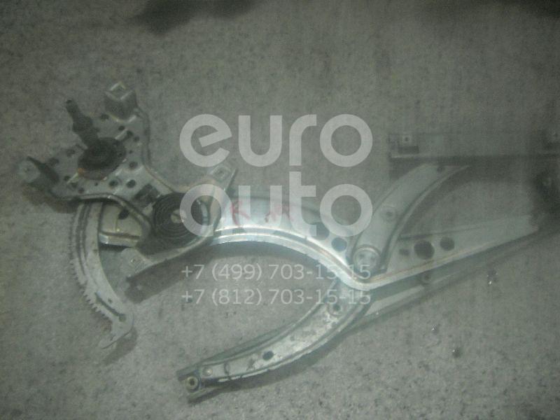 Стеклоподъемник механ. передний правый для VW Passat [B3] 1988-1993;Passat [B4] 1994-1996 - Фото №1