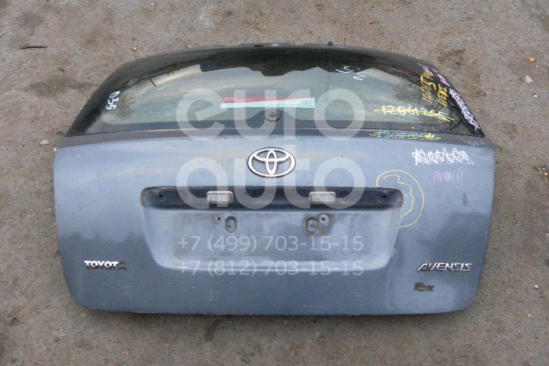 Дверь багажника со стеклом для Toyota Avensis II 2003-2008 - Фото №1