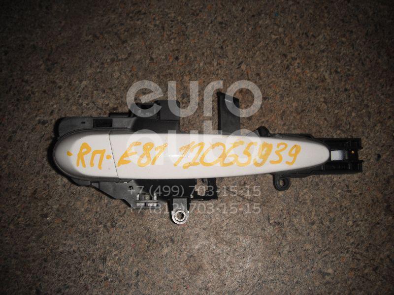 Ручка двери передней наружная правая для BMW 1-серия E87/E81 2004-2011 - Фото №1