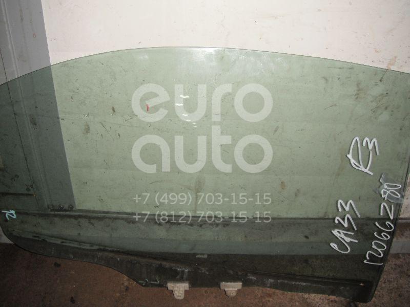 Стекло двери задней правой для Nissan Maxima (A33) 2000-2005 - Фото №1