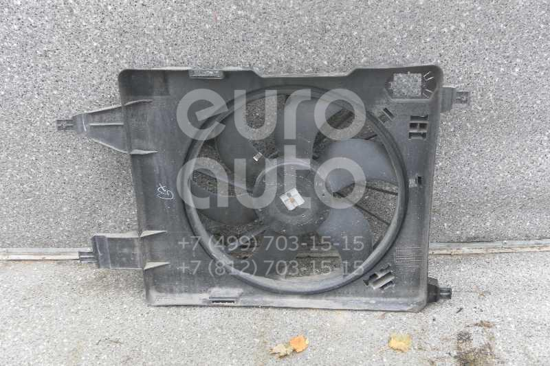 Вентилятор радиатора для Renault Megane II 2003-2009 - Фото №1