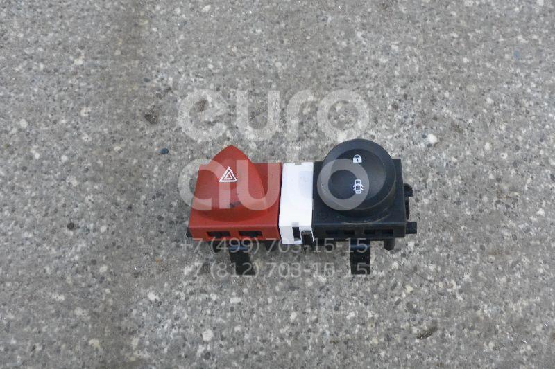 Кнопка аварийной сигнализации для Renault Megane II 2003-2009;Scenic II 2003-2009 - Фото №1