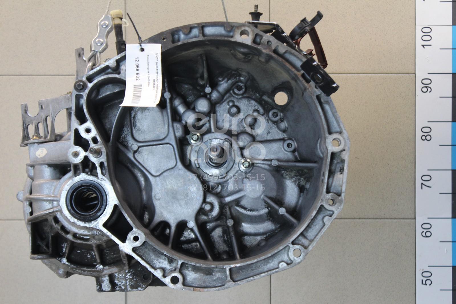 МКПП (механическая коробка переключения передач) для Renault Megane II 2003-2009 - Фото №1