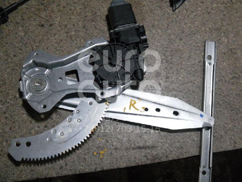 Стеклоподъемник электр. задний правый для Nissan Note (E11) 2006-2013 - Фото №1