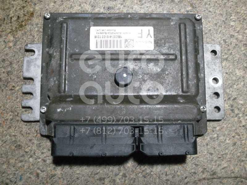 Блок управления двигателем для Nissan Note (E11) 2006-2013 - Фото №1