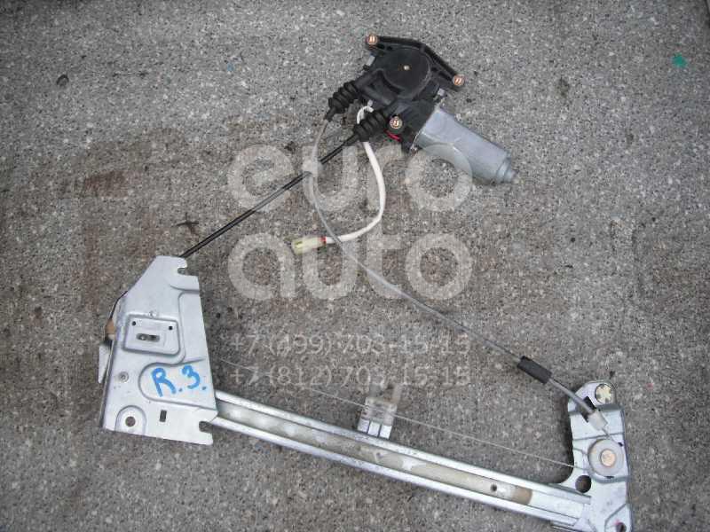 Стеклоподъемник электр. задний правый для Mazda 323 (BA) 1994-1998 - Фото №1