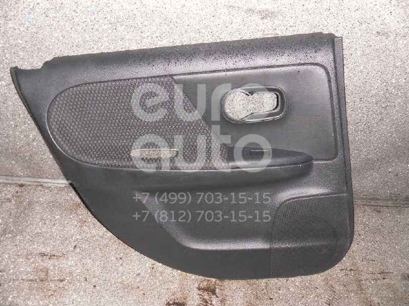 Обшивка двери задней левой для Nissan Note (E11) 2006-2013 - Фото №1
