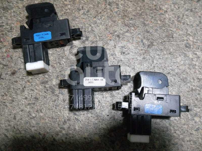 Кнопка стеклоподъемника для Nissan Note (E11) 2006-2013 - Фото №1