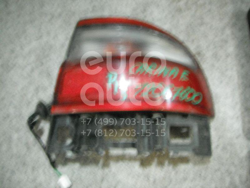 Фонарь задний наружный правый для Toyota Carina E 1992-1997 - Фото №1