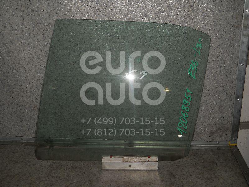 Стекло двери задней левой для BMW 3-серия E36 1991-1998 - Фото №1