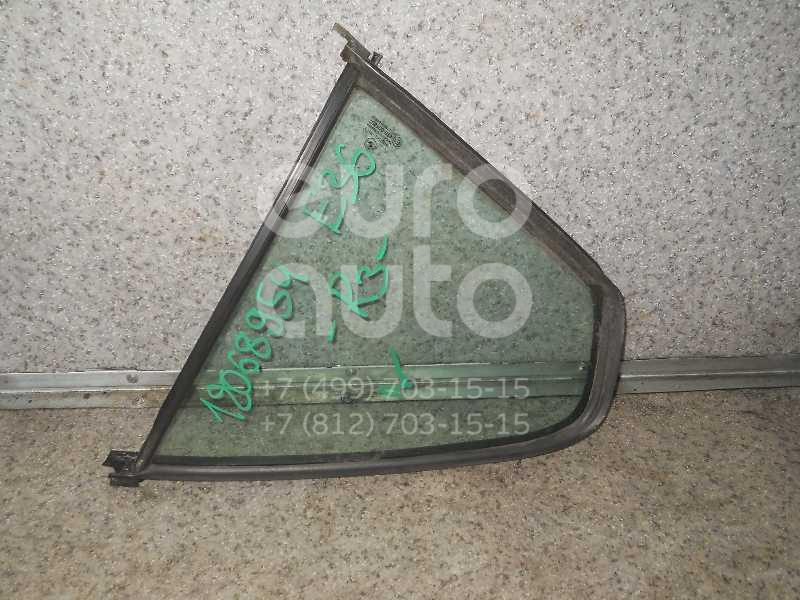 Стекло двери задней правой (форточка) для BMW 3-серия E36 1991-1998 - Фото №1