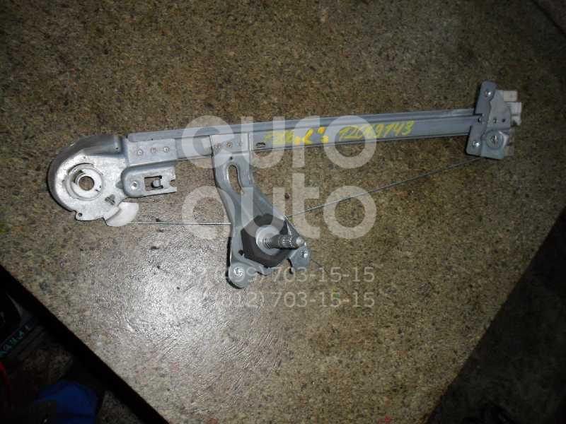 Стеклоподъемник механ. задний левый для Peugeot 206 1998-2012 - Фото №1