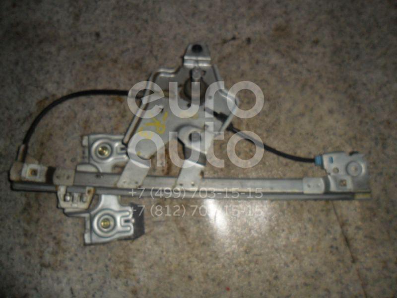 Стеклоподъемник механ. задний правый для Skoda Octavia (A4 1U-) 2000-2011;Octavia 1997-2000 - Фото №1