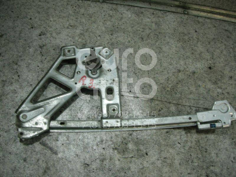 Стеклоподъемник механ. задний правый для Audi 100 [C4] 1991-1994;A6 [C4] 1994-1997 - Фото №1