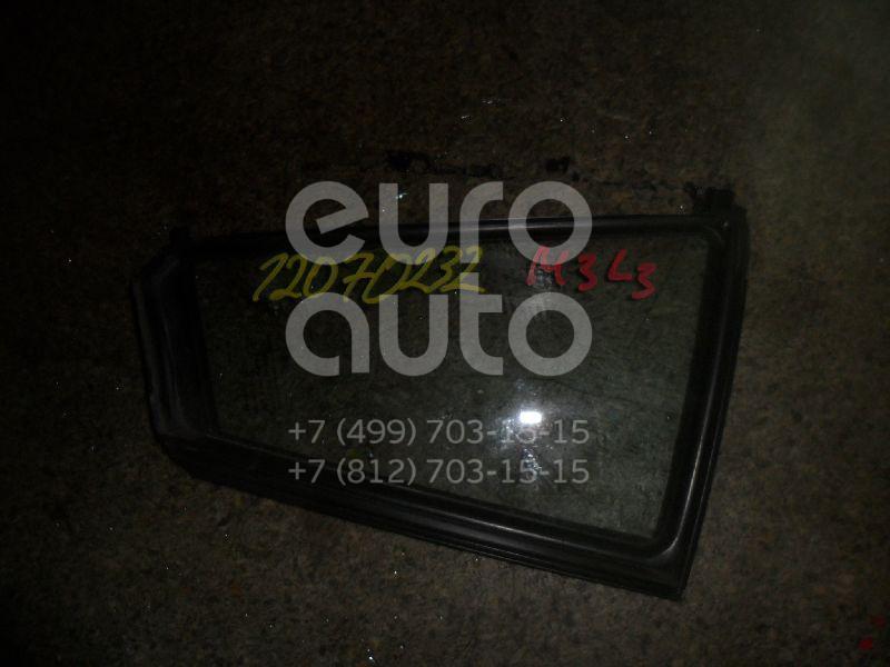 Стекло двери задней левой (форточка) для Mazda Mazda 3 (BK) 2002-2009 - Фото №1
