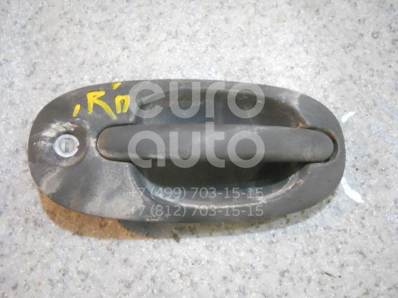 Ручка двери передней наружная правая для Chrysler Voyager/Caravan 1996-2001 - Фото №1