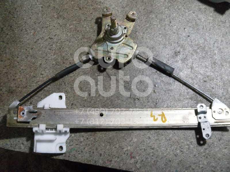 Стеклоподъемник механ. задний правый для Mitsubishi Lancer (CK) 1996-2003 - Фото №1