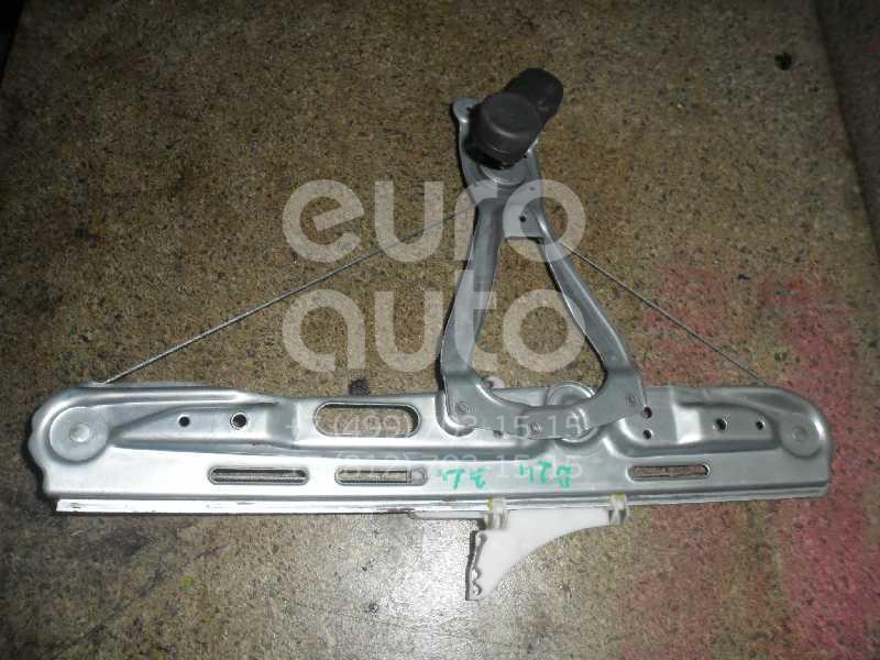 Стеклоподъемник механ. задний левый для Opel Vectra C 2002-2008;Signum 2003-2008 - Фото №1