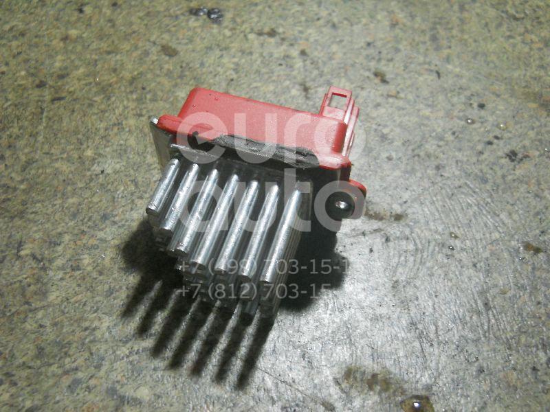 Резистор отопителя для VW,Audi,Skoda,Seat Passat [B5] 2000-2005;A3 (8L1) 1996-2003;A4 [B5] 1994-2001;TT(8N) 1998-2006;Octavia (A4 1U-) 2000-2011;Leon (1M1) 1999-2006;Toledo II 1999-2006;Octavia 1997-2000;Golf III/Vento 1991-1997 - Фото №1