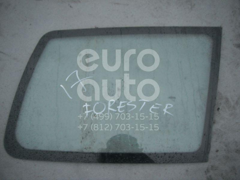 Стекло кузовное глухое правое для Subaru Forester (S10) 2000-2002;Forester (S10) 1997-2000 - Фото №1