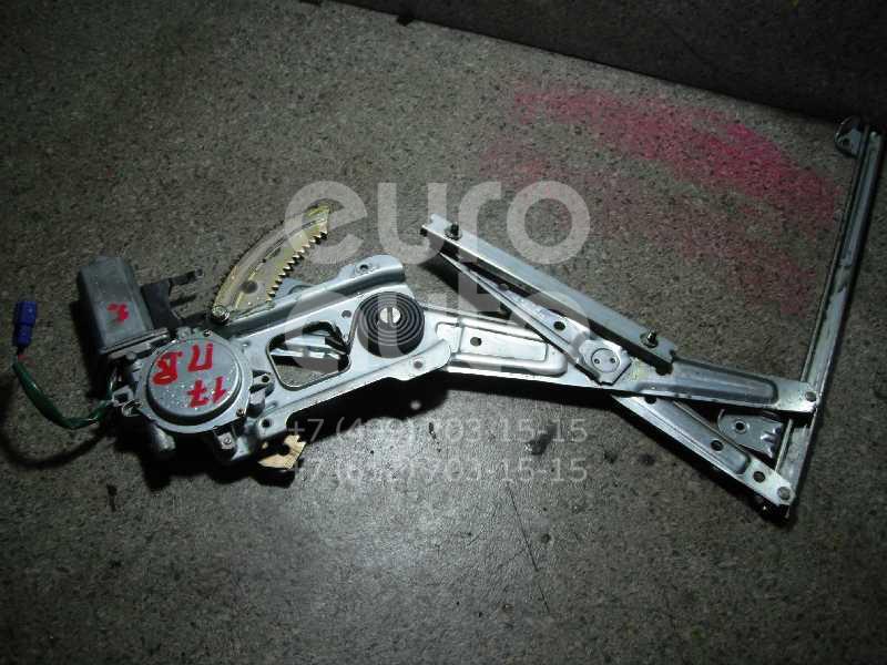 Стеклоподъемник электр. передний правый для Subaru Forester (S10) 2000-2002 - Фото №1
